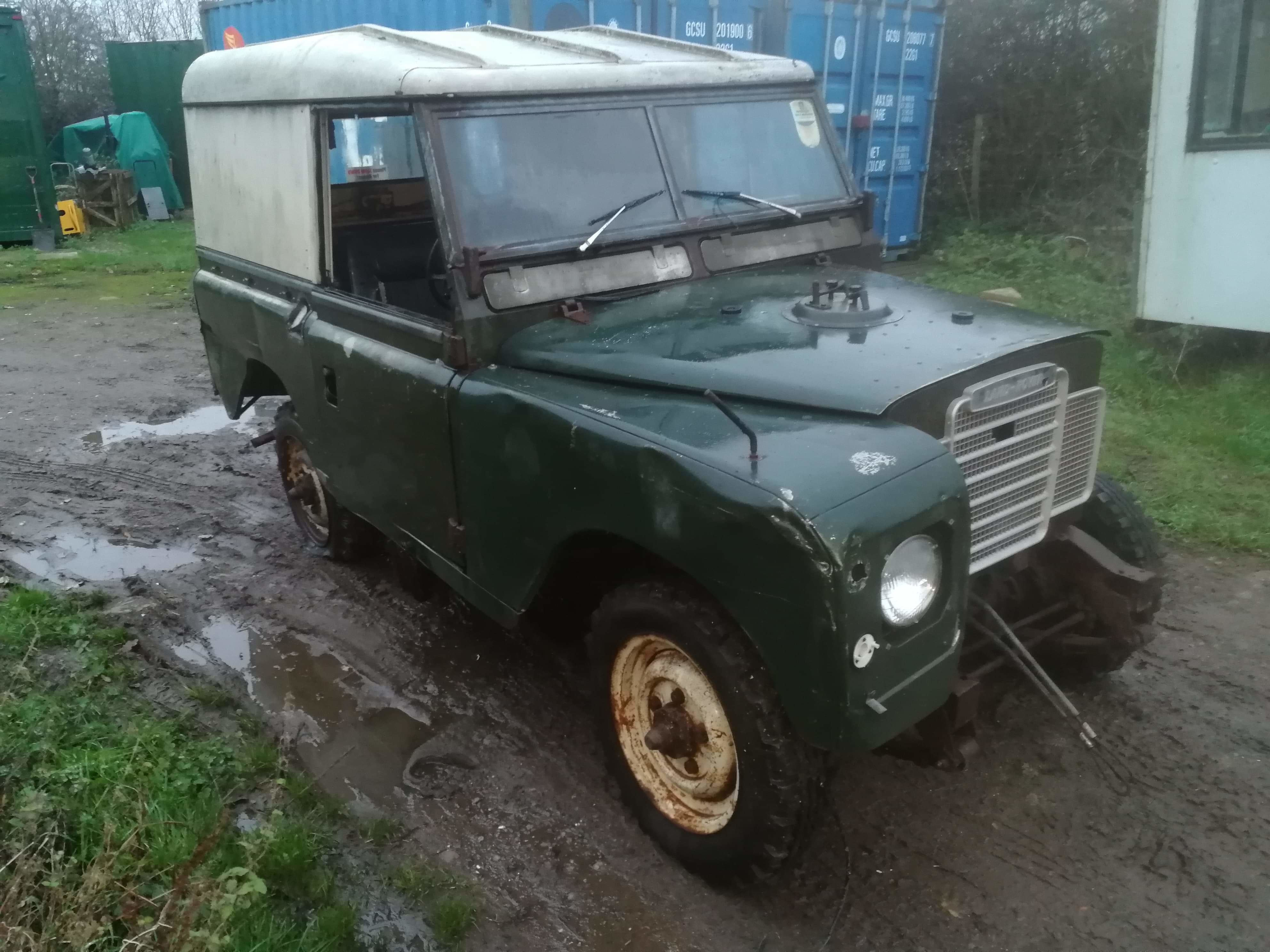 Land Rover Series 3 SWB 2.25 Petrol Project