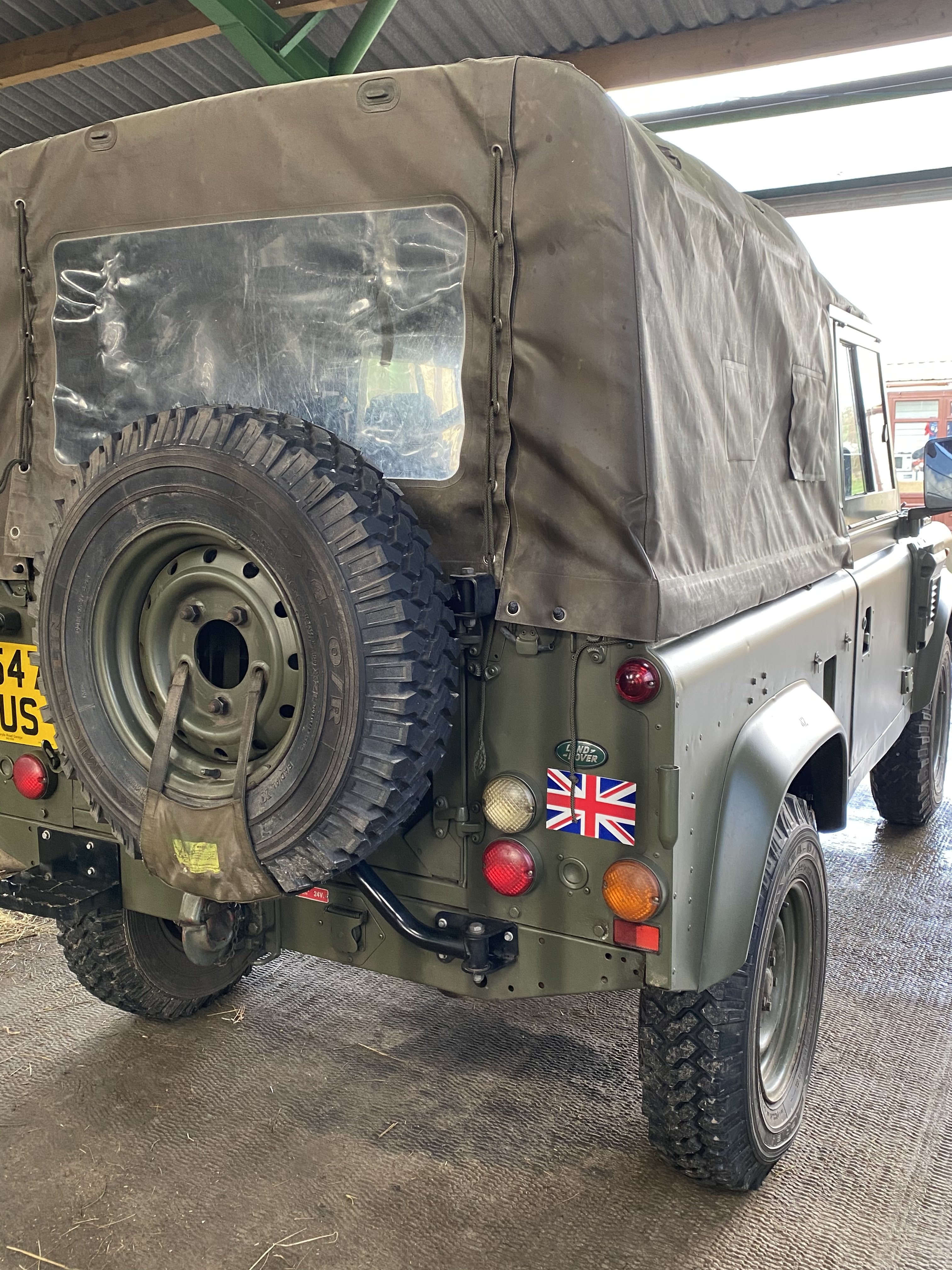 1998 Ex MOD Land Rover Defender Wolf For Sale (picture 1 of 4)
