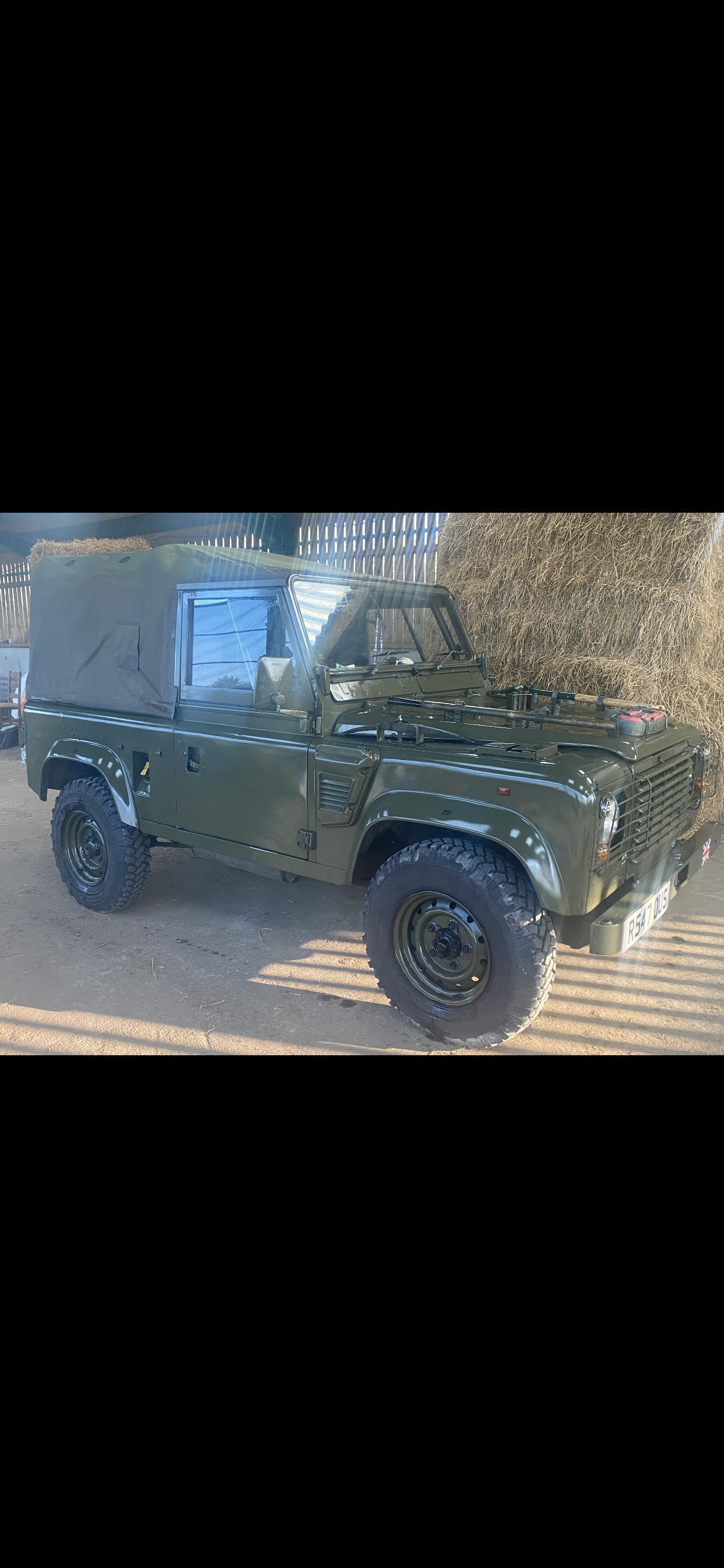1998 Ex MOD Land Rover Defender Wolf For Sale (picture 3 of 4)