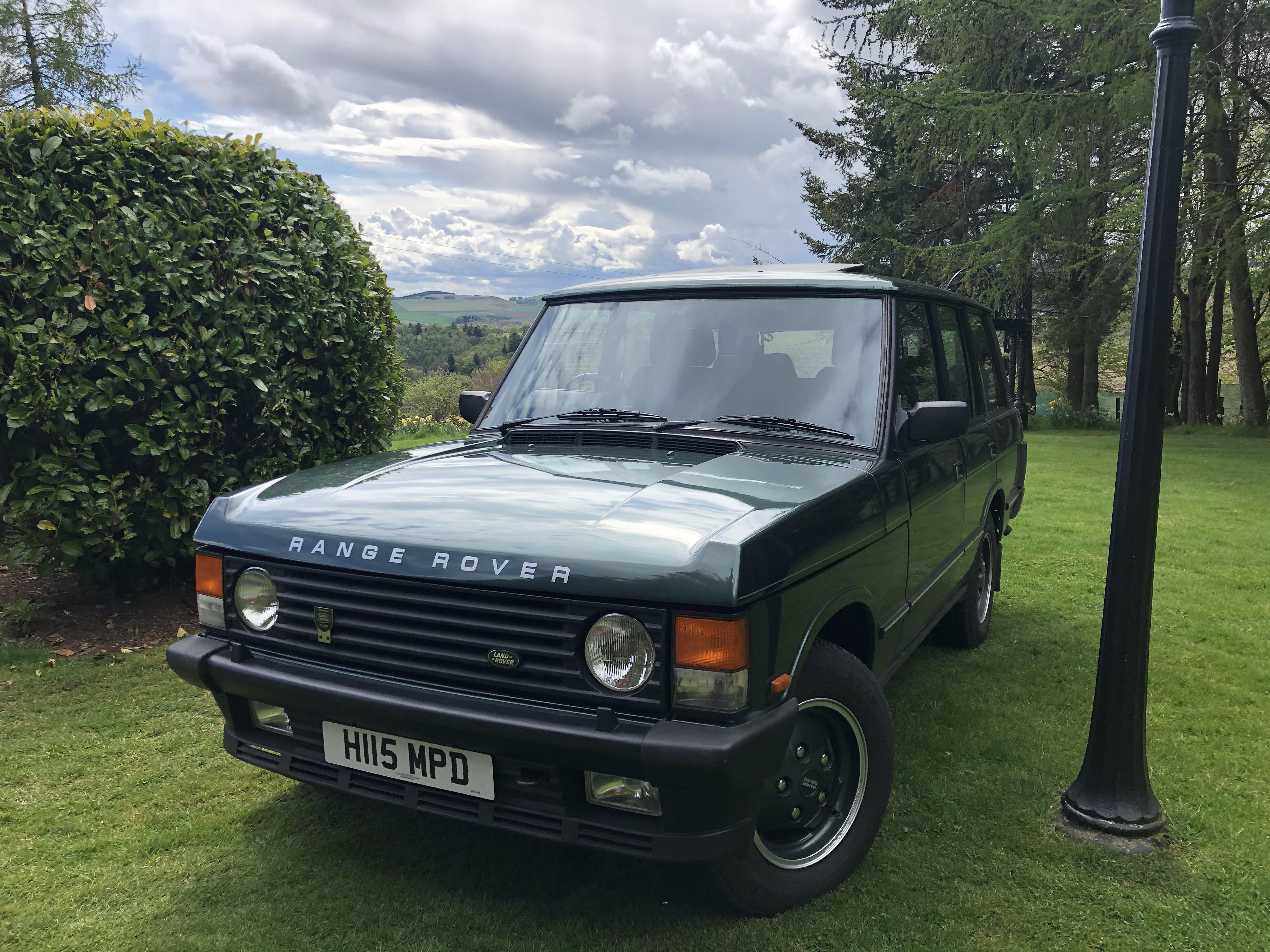 LOW MILEAGE Range Rover Classic