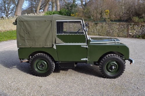 1951 Land Rover Series 1 80