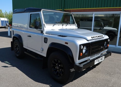 2014 Land Rover Defender 90 2.2TD County HARD TOP  SOLD (picture 1 of 6)