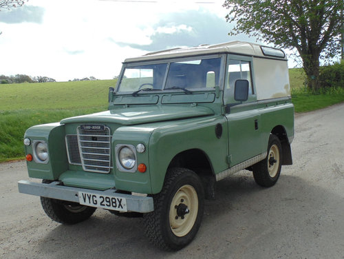1981 Land Rover Series III SOLD (picture 1 of 6)