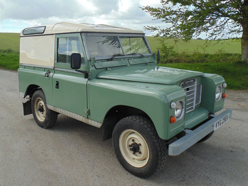 1981 Land Rover Series III SOLD (picture 2 of 6)