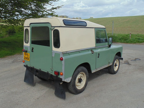 1981 Land Rover Series III SOLD (picture 3 of 6)