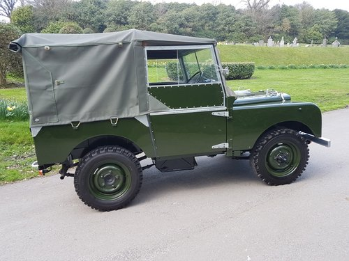 1949 SERIES 1 80? SOFT TOP For Sale (picture 2 of 6)