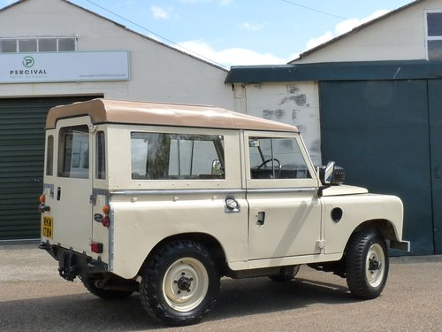 1981 Land Rover Series 111, galvanised chassis SOLD (picture 2 of 6)