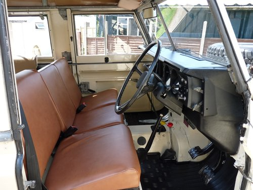 1981 Land Rover Series 111, galvanised chassis SOLD (picture 3 of 6)