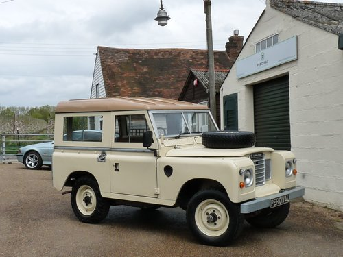 1981 Land Rover Series 111, galvanised chassis SOLD (picture 6 of 6)