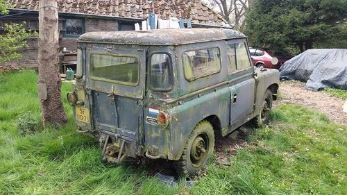 1959 Land Rover series 2, 88 inch for sale For Sale (picture 4 of 6)