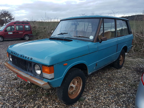 1973 Land Rover Range Rover Suffix C 52,000 Miles From New SOLD (picture 1 of 6)