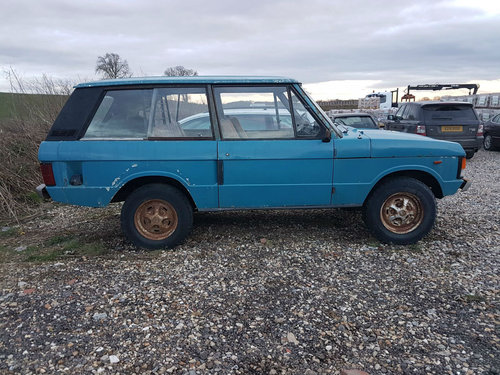 1973 Land Rover Range Rover Suffix C 52,000 Miles From New SOLD (picture 2 of 6)