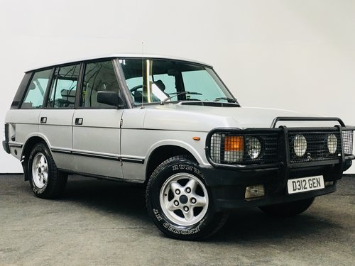 1986 LAND ROVER RANGE ROVER 3.5 V8 EFI AUTO SOLD (picture 1 of 6)