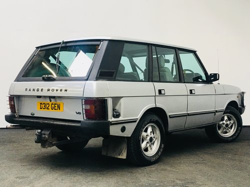 1986 LAND ROVER RANGE ROVER 3.5 V8 EFI AUTO SOLD (picture 2 of 6)