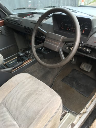1986 LAND ROVER RANGE ROVER 3.5 V8 EFI AUTO SOLD (picture 5 of 6)