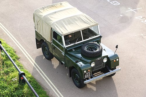 1956 Land Rover Series 1 For Self Drive Hire For Hire (picture 1 of 4)
