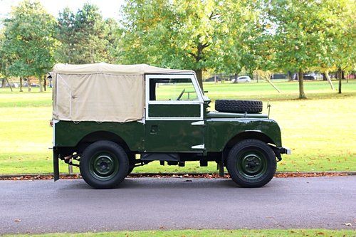 1956 Land Rover Series 1 For Self Drive Hire For Hire (picture 2 of 4)