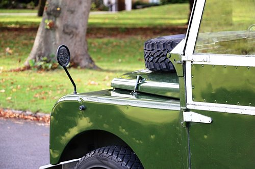 1956 Land Rover Series 1 For Self Drive Hire For Hire (picture 3 of 4)