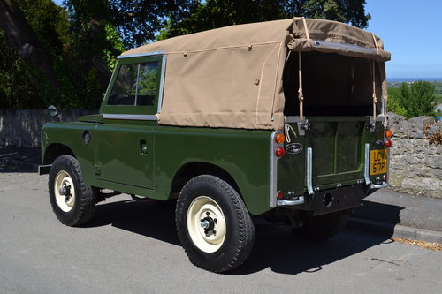 1976 Land Rover Series 3 Bronze Green Softop Galvanised Chassis SOLD (picture 5 of 6)