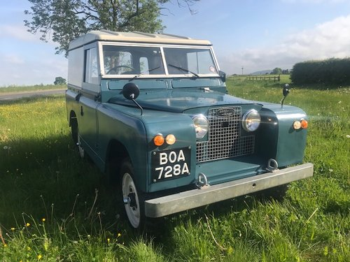 1962 Land Rover® Series 2a RESERVED SOLD (picture 1 of 6)