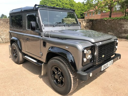2010 Defender 90 Tdci Xs Station Wagon Very High Spec Sold Car And