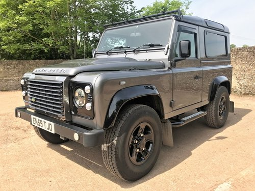 2010 Defender 90 TDCi XS station wagon+very high spec SOLD