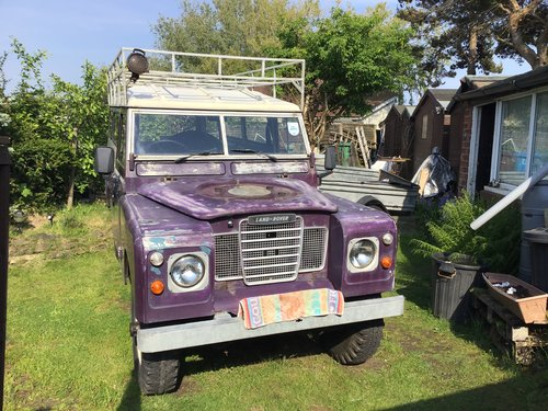1975 Land Rover series three For Sale (picture 1 of 2)