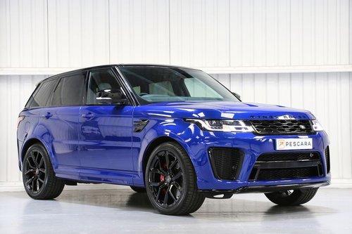 2018 Land Rover Range Rover Sport SVR 5.0 V8 Supercharged For Sale (picture 1 of 6)