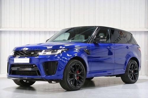 2018 Land Rover Range Rover Sport SVR 5.0 V8 Supercharged For Sale (picture 2 of 6)