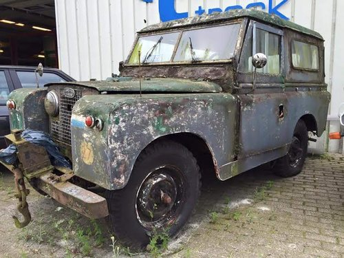 1959 Land Rover Series 2, Dutch Civil Defense  For Sale (picture 1 of 6)