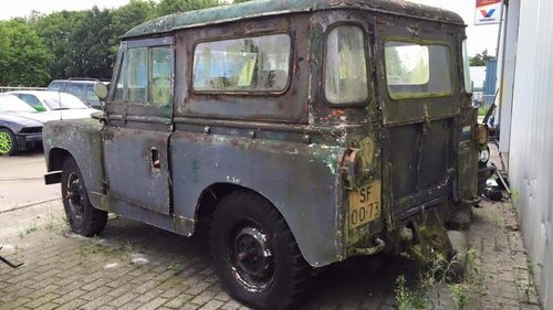 1959 Land Rover Series 2, Dutch Civil Defense  For Sale (picture 2 of 6)