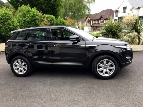 2012 RANGE ROVER EVOQUE 2.2 SD4 PURE TECH AWD 5 DOOR AUTO SOLD (picture 1 of 6)