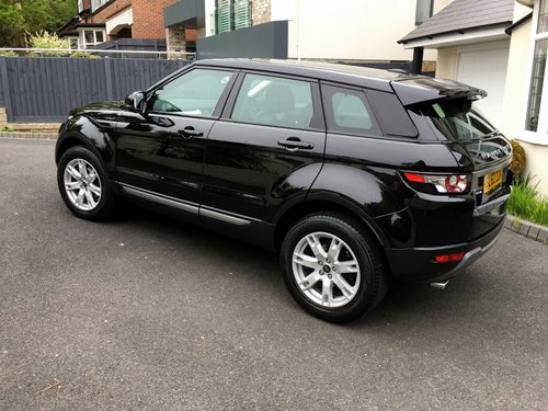 2012 RANGE ROVER EVOQUE 2.2 SD4 PURE TECH AWD 5 DOOR AUTO SOLD (picture 2 of 6)