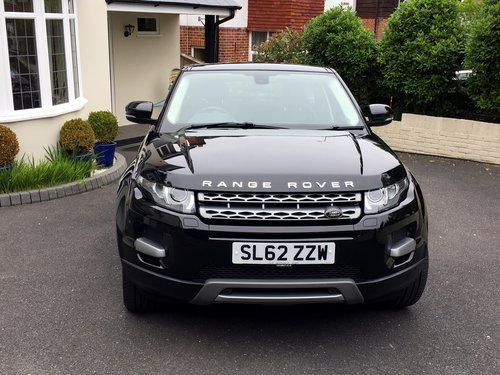 2012 RANGE ROVER EVOQUE 2.2 SD4 PURE TECH AWD 5 DOOR AUTO SOLD (picture 3 of 6)