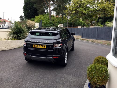 2012 RANGE ROVER EVOQUE 2.2 SD4 PURE TECH AWD 5 DOOR AUTO SOLD (picture 4 of 6)