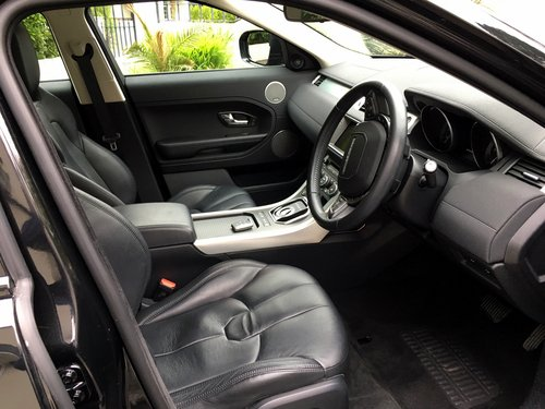2012 RANGE ROVER EVOQUE 2.2 SD4 PURE TECH AWD 5 DOOR AUTO SOLD (picture 5 of 6)