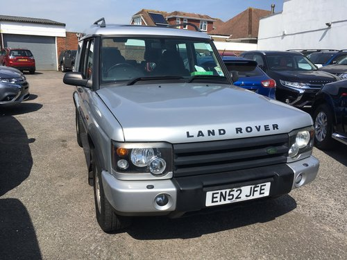 2003 Land Rover Discovery td5 auto GS SOLD (picture 1 of 1)
