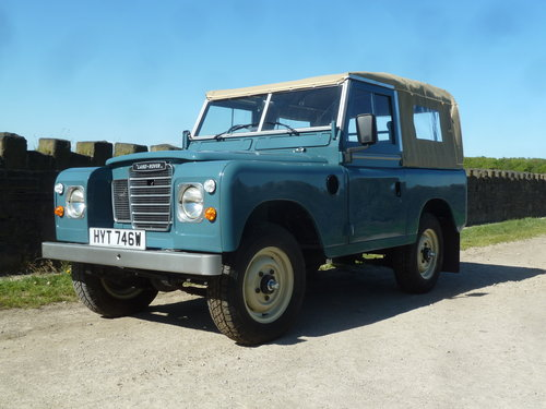 1981  Land Rover Series 3 Diesel - 36,200 miles from new ! SOLD (picture 1 of 1)