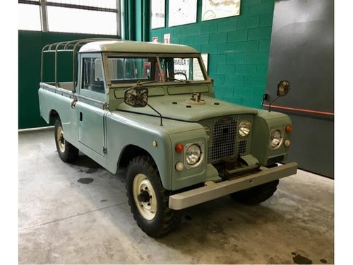 Land Rover Serie 2  109 Pick Up 1967  For Sale (picture 1 of 6)