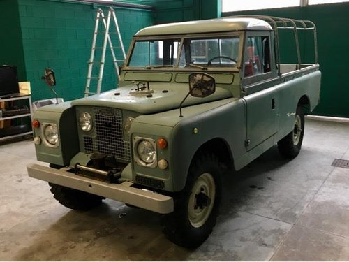 Land Rover Serie 2  109 Pick Up 1967  For Sale (picture 2 of 6)