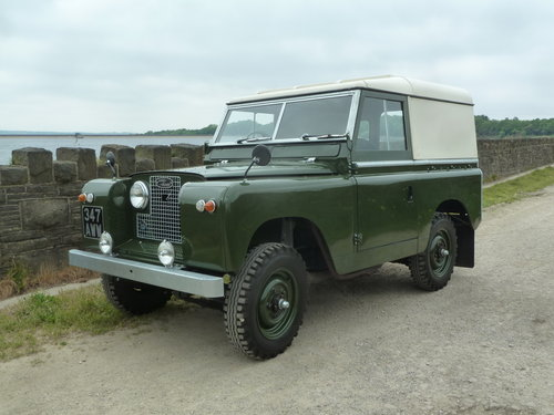 1962 LAND ROVER SERIES IIA – DIESEL – 63,000 MILES For Sale (picture 1 of 6)