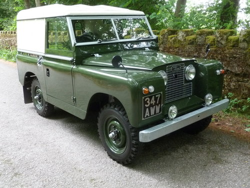 1962 LAND ROVER SERIES IIA – DIESEL – 63,000 MILES SOLD (picture 2 of 10)