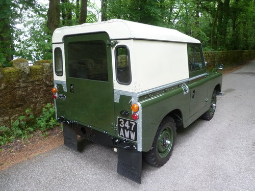 1962 LAND ROVER SERIES IIA – DIESEL – 63,000 MILES SOLD (picture 3 of 10)