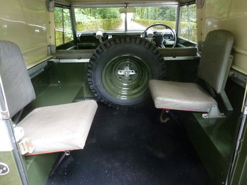 1962 LAND ROVER SERIES IIA – DIESEL – 63,000 MILES SOLD (picture 6 of 10)
