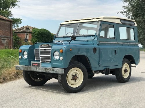 LAND ROVER 88 DIESEL RHD - 1978 For Sale (picture 1 of 6)