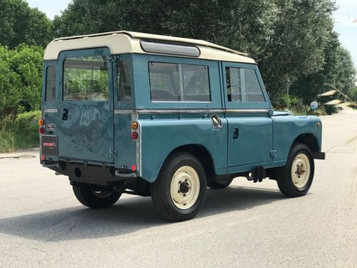 LAND ROVER 88 DIESEL RHD - 1978 For Sale (picture 2 of 6)