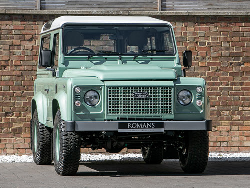 2015 Land Rover Defender 90 Heritage SOLD (picture 1 of 6)