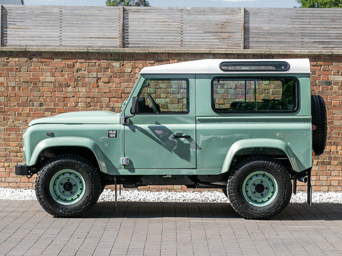 2015 Land Rover Defender 90 Heritage SOLD (picture 2 of 6)