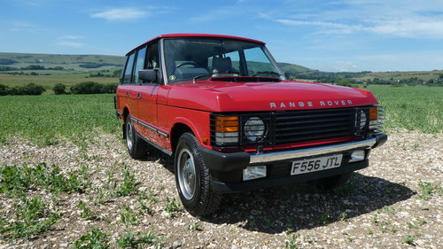 1988 Range Rover EFi with just 7500 miles from new  SOLD (picture 1 of 6)