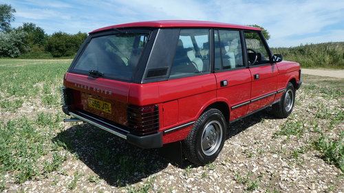 1988 Range Rover EFi with just 7500 miles from new  SOLD (picture 2 of 6)